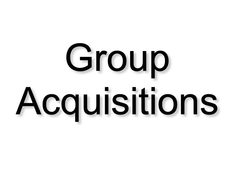 Group Acquisitions
