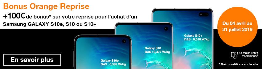 Bonus Samsung S10e/S10/S10+