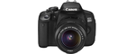 Canon EOS 650D noir
