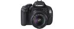 Canon Eos 600d noir
