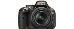 Nikon D5200 slr-digitale camera bronze