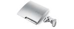 Sony Playstation 3 slim 320go argenté - modèle k, avec manette sans fil