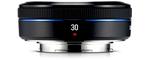 Samsung NX 30 mm F 2.0 43 mm Objectif (adapté à samsung NX) noir