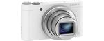 Sony DSCW-X500 blanc