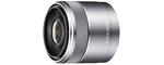 Sony E 30 mm F 3.5 Macro 49 mm Objectif (adapté à sony E-Mount) gris