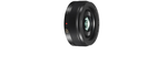 Panasonic Lumix G 20 mm 1.7 Asph. Pancake 46 mm Objectif (adapté à Micro Four Thirds) noir