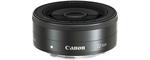 Canon EF-M 22 mm 2.0 STM 43 mm Objectif (adapté à canon EF-M) noir