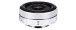 Samsung NX 16 mm F 2.4 43 mm Objectif (adapté à samsung NX) blanc
